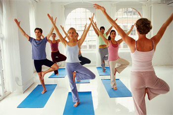 Йога для остеохондроза грудного отдела